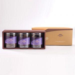 【御點】杏仁巧克力手工餅乾3入禮盒(蛋奶素)