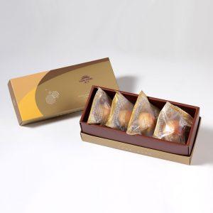 香脆核桃搭配綿密清香棗泥內餡特製的【棗泥核桃】蛋奶素