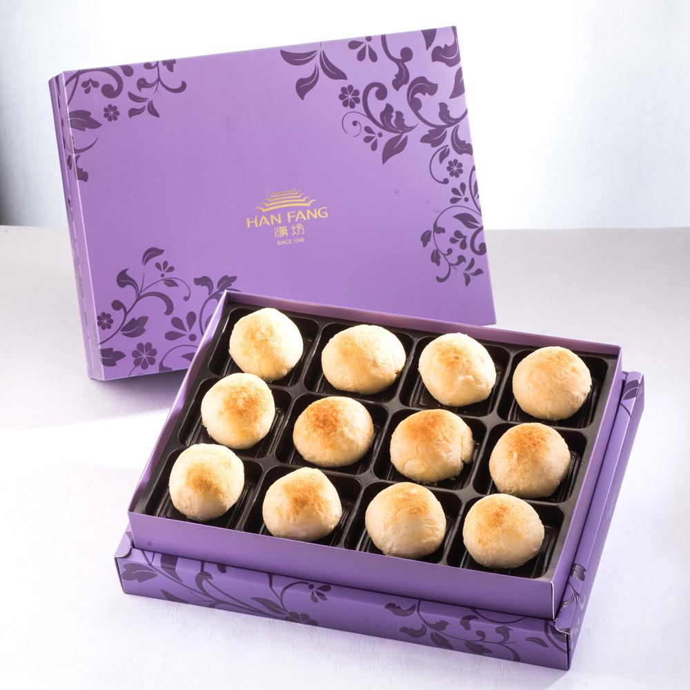 【臻饌七十周年限量款】漢坊金沙小月12入禮盒(紫)