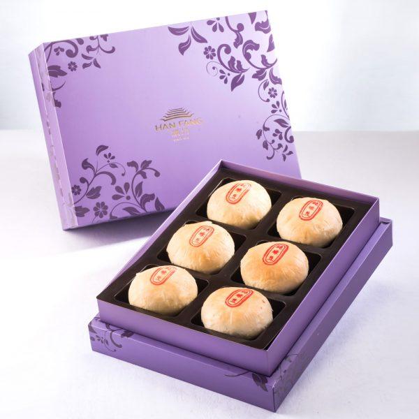 【臻饌七十周年限量款】純綠豆椪6入禮盒(紫)