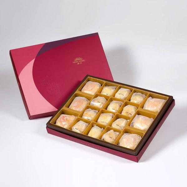 【金饌】綜合18入禮盒★綠豆椪3+純綠豆椪3+漢坊金沙小月12