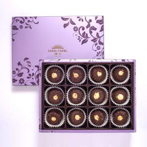 【臻饌】雲朵曲奇-優格巧克力12入禮盒(蛋奶素)