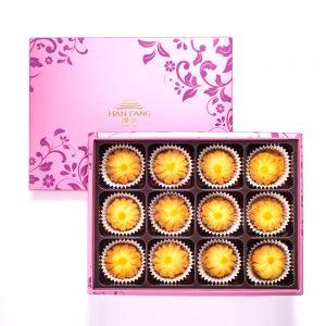 【臻饌】雲朵曲奇-奶油金沙12入禮盒(蛋奶素)