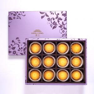 【臻饌】雲朵曲奇-法式奶油12入禮盒(蛋奶素)